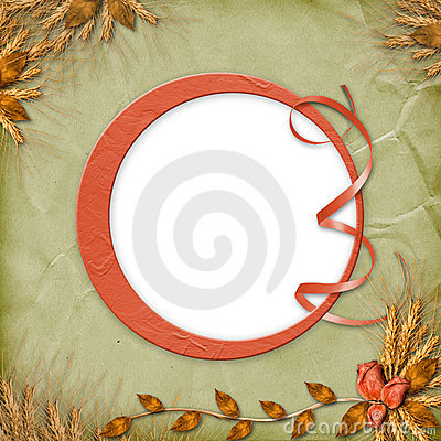 Free Grunge Frame In Scrapbooking Style Stock Photo - 11195030