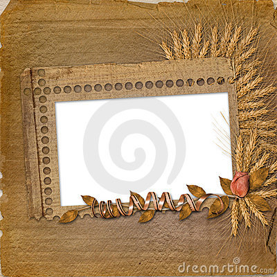 Free Grunge Frame In Scrapbooking Style Stock Photos - 11549413