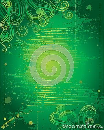 Grunge Green