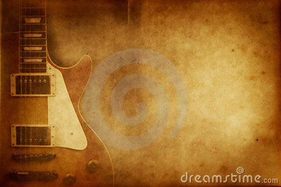 Grunge Guitar Paper