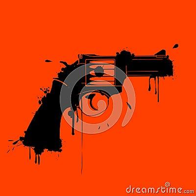Grunge gun
