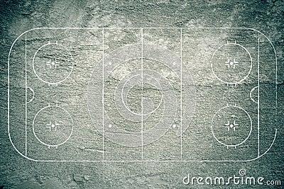Grunge Hockey Rink