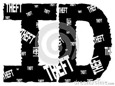 Grunge ID theft