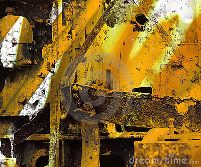 Grunge Industrial Art Background