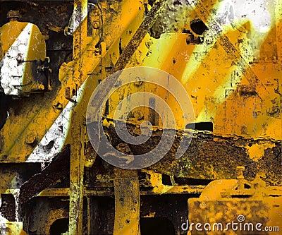 Grunge Industrial Art Background
