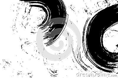 Grunge Ink Brushed