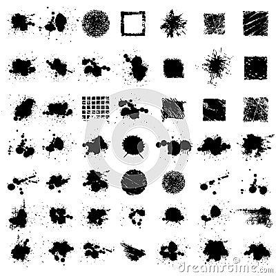 Free Grunge Ink Splat Stock Image - 15551241