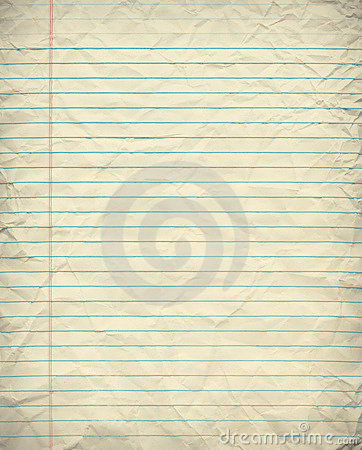 Free Grunge Lined Paper Royalty Free Stock Image - 10249046