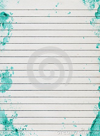 Free Grunge Lined Paper Stock Photos - 26199593