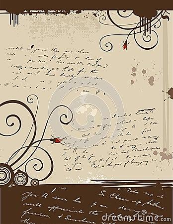 Grunge Love Letter