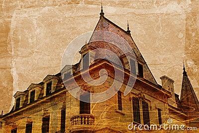 Grunge mansion