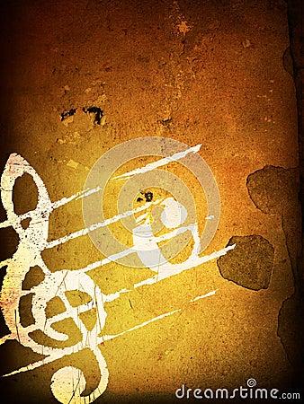 Grunge melody textures