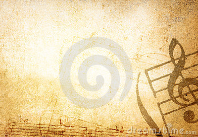 Grunge Melody Textures And Backgrounds Royalty Free Stock Photos - Image: 7312638
