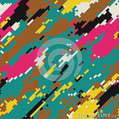 Grunge mosaic