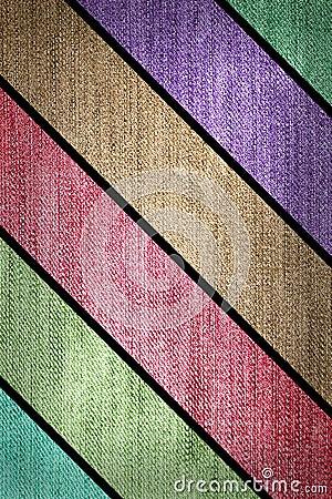 Grunge multicolored stripes jean