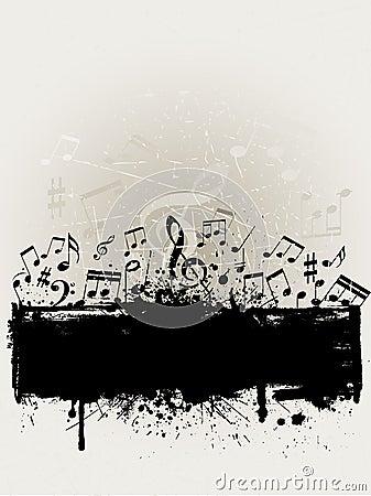 Free Grunge Music Stock Image - 10021961