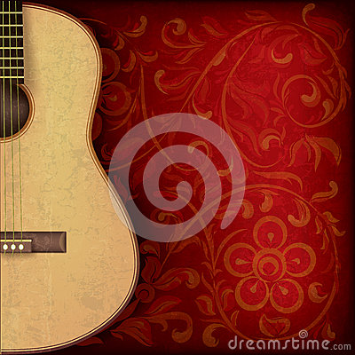 music time guitar abstract - photo #44
