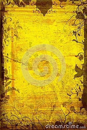 Free Grunge Nature Page Stock Image - 2856831