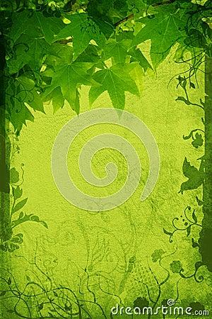 Grunge nature page