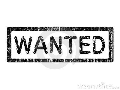 Grunge Office Stamp - WANTED