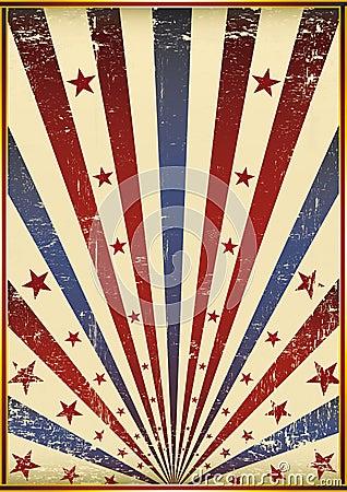 Grunge old flag