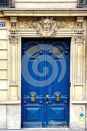 Free Grunge Painted Art Deco Door Stock Photo - 2264800