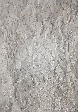 Grunge Paper with creases and spots