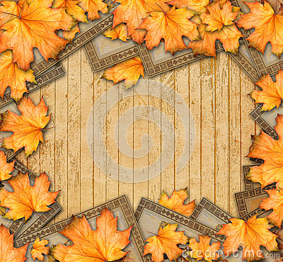 Free Grunge Paper Design In Scrapbooking Style With Photoframe Stock Photos - 44385393