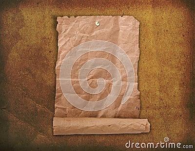 Grunge paper design in scrapbooking style