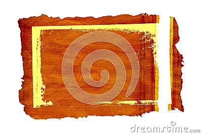 Grunge parchment  frame 2