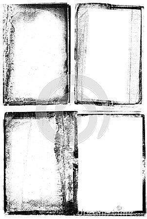 Free Grunge Photographic Frames Royalty Free Stock Photos - 908388