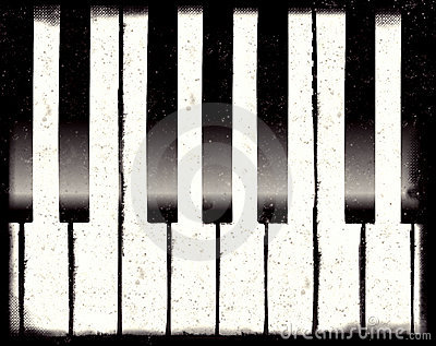 Grunge piano