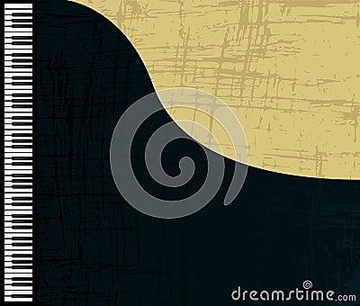 Grunge piano profile