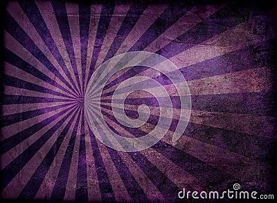 Grunge radiate purple