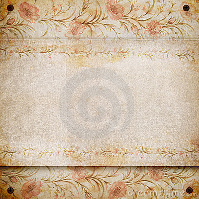 Grunge retro vintage paper background.