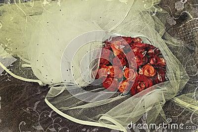 Grunge roses