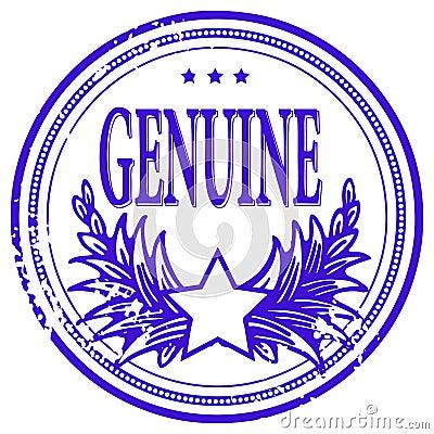 Grunge rubber ink stamp
