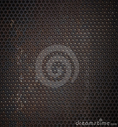 Free Grunge Rusty Metal Grid Background Stock Images - 18037454