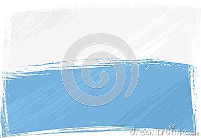 Grunge San Marino flag