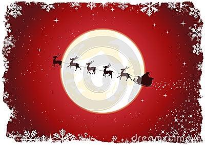 Grunge Santa s Sleigh