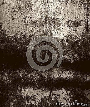 Grunge scratched metal