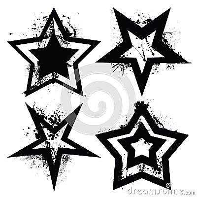 Grunge setu gwiazda