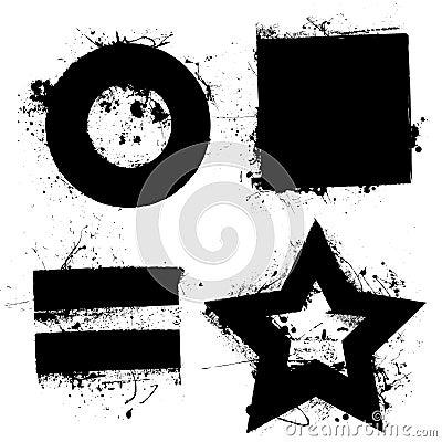 Free Grunge Shapes Stock Photography - 12587702