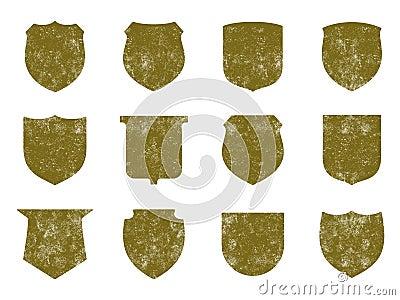 Grunge Shields