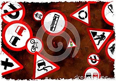 Grunge signs