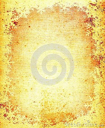 Free Grunge Snowflakes Frame Royalty Free Stock Photo - 1887725