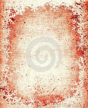 Free Grunge Snowflakes Frame Stock Image - 2080651