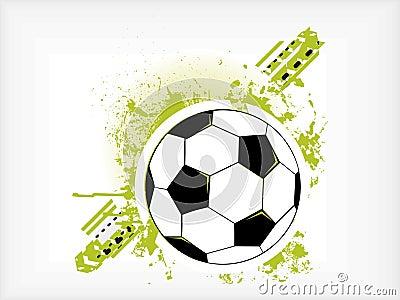 Grunge Soccer Ball