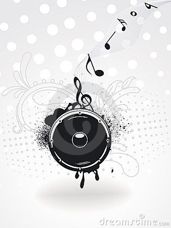 Free Grunge Speaker For Party Royalty Free Stock Images - 13618059