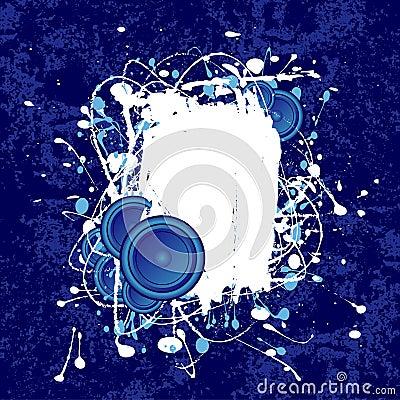 Free Grunge Speaker Text Frame Stock Photo - 4971170